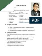 Curriculum Vitae Freddy 2019 Foto PDF