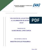 Aplicación de la electrodiálisis en agua..pdf