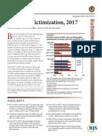 Criminal Victimization 2017