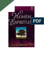 O Homem Espiritual Vol. I