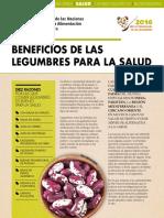 Beneficios de Las Legumbres en La Salud