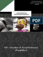 sexualidade e parafilias