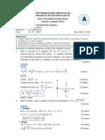 Solucionario Examen Final 2015 - i