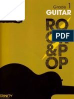 trinity rock and pop grade 1 guitar