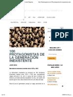 52. 100 protagonistas de la generación inexistente.pdf