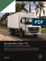 Mercedes-benz Atego 1725