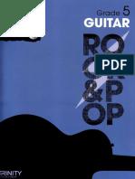 Grade 5 Guitar trinity rock and pop 2013