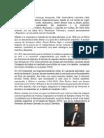 Biografia de Simón Bolívar y Sus Principales Aportes