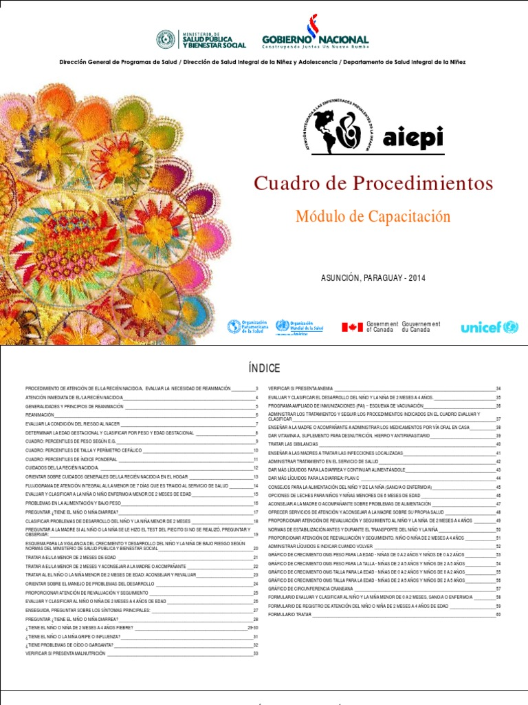 AIEPI Capurro   PDF   Reanimación cardiopulmonar   Infantes