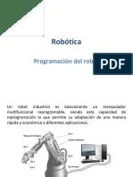 1 Programación de robots