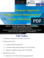 Subspace Discriminant Approach Hyperspectral