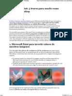 Tutorial de Microsoft Paint