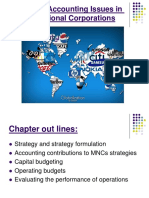 Strategic Accounting Issues in MNCs Modified