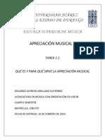 EAAG_Act 1.1 Apreciación Musical