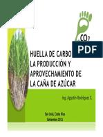 Huella de Carbono en La Producción y Aprovechamiento de La Caña de Azúcar