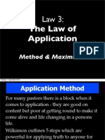 Wilkinson 7 Laws Learner Law 3_b Application Maximisers