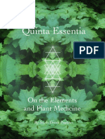 Quinta Essentia- On the Elements and Plant Medicine