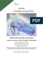 Manual Reiki Sistema de Sanacion Unicornio