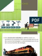 Cuatro Revoluciones Industriales