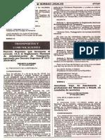D.S 013-2012-MTC