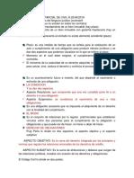 Material de estudio para Derecho Civil III