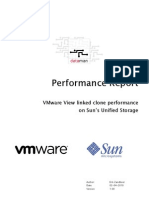 Performance Report Sun Unified Storage and VMware View 1.0