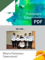 Group 6 Pulmonary Tuberculosis 2018A