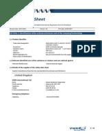 MSDS - Hydrochloric Acid 0.1 Moll (0.1 N)