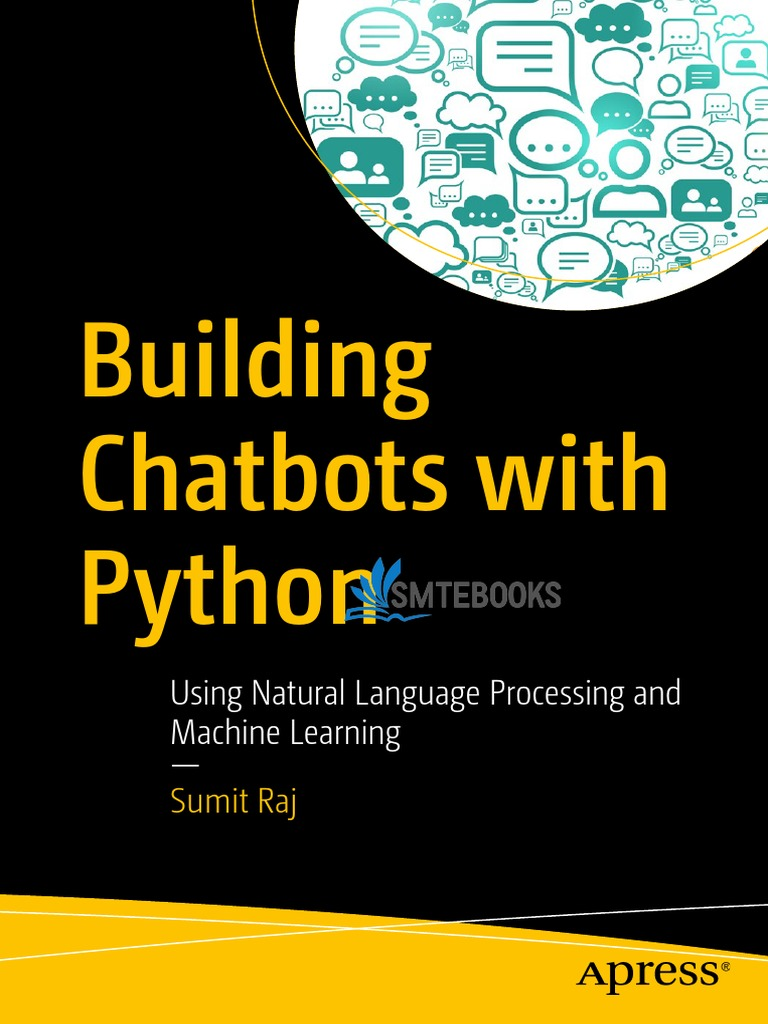 Building Chatbots with Python 1st Edition] Pdf | Areas Of Computer