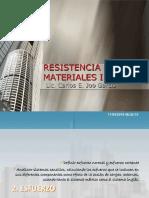 Resistencia de Materiales Clase 03 Esfuerzo