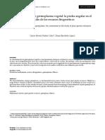 Caracterización de germoplasma vegetal la piedra angular en el estudio de los recursos fitogenéticos