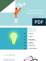 1 page idea - proposal  by Vicky Vu