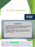 Las Teclas Dominantes