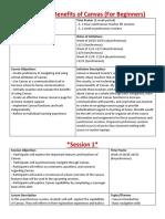 online facilitation plan