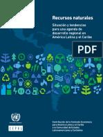 CELAC. Recursos Naturales - Situación y tendencias para una agenda de desarrollo regional en America Latina y el Caribe