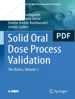 Solid Oral Dose Process Validation 2018
