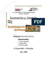 Actividad economica del Paraguay.doc