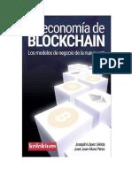 Lopez Lerida Joaquin Y Mora Perez Jose Juan - La Economia de Blockchain