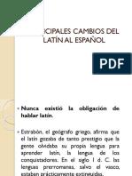 Cambios Del Latin Al Español_1