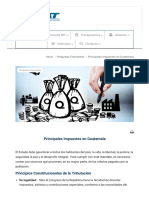 Principales Impuestos en Guatemala - Portal SAT(1)