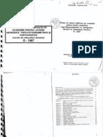 Norme de munca unificate pe economie pt lucrari de geodezice topo-fotogrametrice si cartografice O-1987