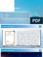 SCF Token English Presentation PDF PPT