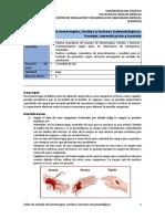 UA7 Manejo de Heridas, Hemorragias y Lesiones