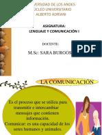 Unidad I Lengua y Lenguaje 10-2019