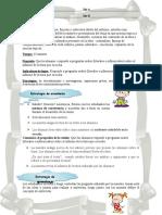 Planificacion El Informe de Lectura de Español