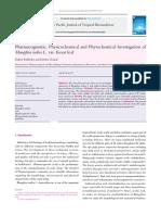 HPLC and GC-QTOF Liophilic Phenols Fruits