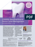 CAMBRA - Caries Management