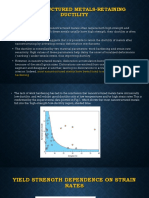Nanostructured Metals-retaining Ductility
