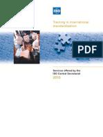 Iso Training Brochure