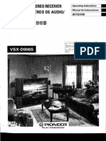Manual de Serviço Vsxd906s